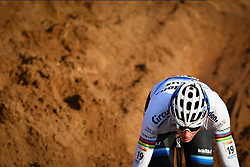 December 26, 2018 - Heusden-Zolder, BELGIUM - Dutch Mathieu Van Der Poel pictured in action during the men Elite race of the seventh stage (out of nine) in the World Cup cyclocross, Wednesday 26 December 2018 in Heusden-Zolder, Belgium. BELGA PHOTO DAVID STOCKMAN (Credit Image: © David Stockman/Belga via ZUMA Press)