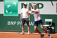 Casper Ruud of Norway during practice ahead of the French Open 2021, a Grand Slam tennis tournament at Roland-Garros stadium on May 29, 2021 in Paris, France - Photo Jean Catuffe / ProSportsImages / DPPI