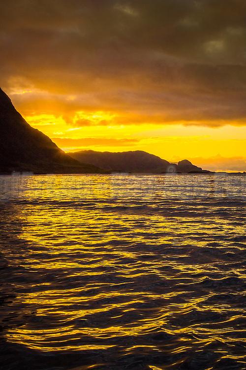 Sunset over Hidsneset, Norway | Solnedgang over Hidsneset