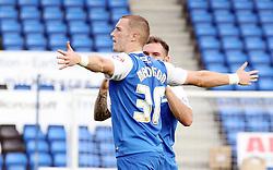 Peterborough United's Marcus Maddison celerbates scoring his goal - Photo mandatory by-line: Joe Dent/JMP - Mobile: 07966 386802 - 18/10/2014 - SPORT - Football - Peterborough - London Road Stadium - Peterborough United v Barnsley - Sky Bet League One