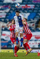 BLACKBURN, ENGLAND - Saturday, January 16, 2021: Blackburn Rovers' Lewis Travis during the Football League Championship match between Blackburn Rovers FC and Stoke City FC at Ewood Park. The game ended in a 1-1 draw. (Pic by David Rawcliffe/Propaganda)