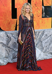 Malin Akerman attending the European premiere of Rampage, held at the Cineworld in Leicester Square, London. Photo credit should read: Doug Peters/EMPICS Entertainment
