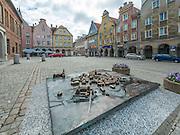 Olsztyn, 2014-05-18. Rynek Starego Miasta