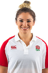 Amy Wilson-Hardy of England Rugby 7s - Mandatory by-line: Robbie Stephenson/JMP - 17/09/2019 - RUGBY - The Lansbury - London, England - England Rugby 7s Headshots