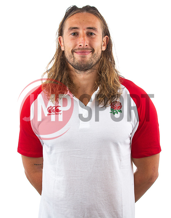 Daniel Bibby of England Rugby 7s - Mandatory by-line: Robbie Stephenson/JMP - 17/09/2019 - RUGBY - The Lansbury - London, England - England Rugby 7s Headshots