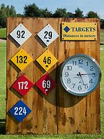 DEN DOLDER - afstanden driving range Golfsocieteit De Lage Vuursche. COPYRIGHT KOEN SUYK