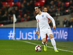 November 15, 2018 - London, United Kingdom - England's Ben Chilwell .during the friendly soccer match between England and USA at the Wembley Stadium in London, England, on 15 November 2018. (Credit Image: © Action Foto Sport/NurPhoto via ZUMA Press)