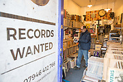 Record wanted at the Little Record Shop in Hornsey on the 27th March 2018 in North London, United Kingdom
