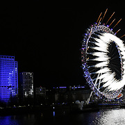 2019 London's New Year's Eve fireworks