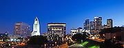 Los Angeles City Skyline with City Hall