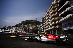 May 26, 2018 - Monaco, Monte Carlo - 16 Charles Leclerc from Monaco with Alfa Romeo Sauber F1 Team C37 during the Monaco Formula One Grand Prix  at Monaco on 25 th of May, 2018 in Montecarlo, Monaco. (Credit Image: © Xavier Bonilla/NurPhoto via ZUMA Press)