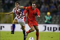 Fotball<br /> EM-kvalifisering<br /> 10.09.2003<br /> Belgia v Kroatia<br /> NORWAY ONLY<br /> Foto: Phot News/Digitalsport<br /> <br /> DARIO SIMIC / BART GOOR