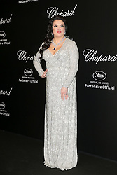 """""""Love"""" party Chopard in Cannes 2019.. Pictures: Laurent Guerin / EliotPress Set ID: 600942. 17 May 2019 Pictured: Anna Netrebko. """"Love"""" party Chopard in Cannes 2019.. Pictures: Laurent Guerin / EliotPress Set ID: 600942. Photo credit: Eliot Press / ELIOTPRESS / MEGA TheMegaAgency.com +1 888 505 6342"""