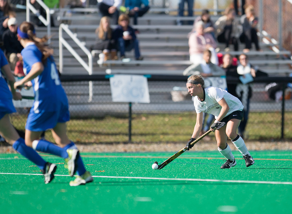 , of Colby College, during a NCAA Division III field hockey game on October 25, 2014 in Waterville, ME. (Dustin Satloff/Colby College Athletics)