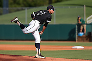28 May 2016: Nova Southeastern's Alex Mateo. The Nova Southeastern University Sharks played the Franklin Pierce University Ravens in Game 3 of the 2016 NCAA Division II College World Series  at Coleman Field at the USA Baseball National Training Complex in Cary, North Carolina. Nova Southeastern won the game 4-3 in twelve innings.