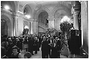 Literary party at the NY public library. New York. 1996.<br /> <br /> SUPPLIED FOR ONE-TIME USE ONLY> DO NOT ARCHIVE. © Copyright Photograph by Dafydd Jones 248 Clapham Rd.  London SW90PZ Tel 020 7820 0771 www.dafjones.com