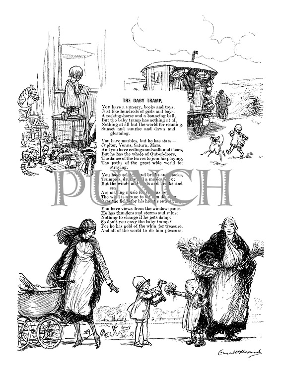 The Baby Tramp (Illustrated poem)
