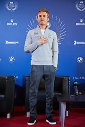 Nico Rosberg gibt bei der Pk anlässlich der FIA Gala in Wien seinen Rücktritt bekannt / 021216<br /> <br /> ***Press conference with Nico Rosberg ahead of the Fia Gala in Austria, December 2nd, 2016. He announces his retirement***