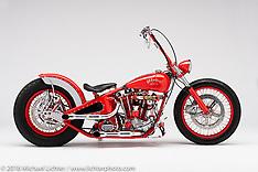 Arlen Ness Last Bike / Red Magnum