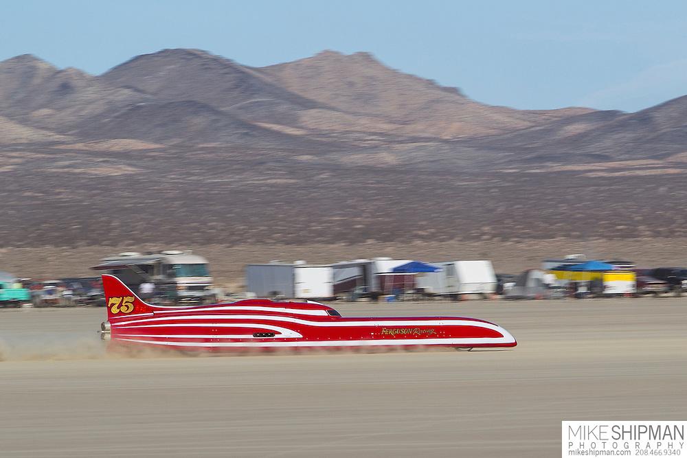 Ferguson Racing, 75, eng B, body FS, driver Don Ferguson III, 246.026 mph, previous record 236.700