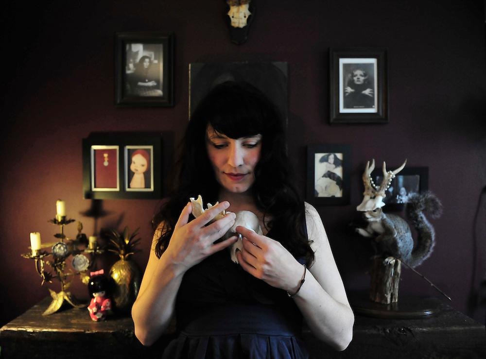 Portrait of artist Kat Hahn