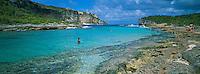 France, Guadeloupe, Grande-Terre, pointe Nord-Est, le lagon de la porte d'Enfer // France, West indies, Caribbean, Grande-Terre, Hell lagoon