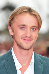 © Licensed to London News Pictures. 31/03/2012. Watford, England. Tom Felton attends The Warner Bros. Studio Tour London - The Making of Harry Potter ** GRAND OPENING at Leavesden Studios near Watford Hertfordshire  Photo credit : ALAN ROXBOROUGH/LNP