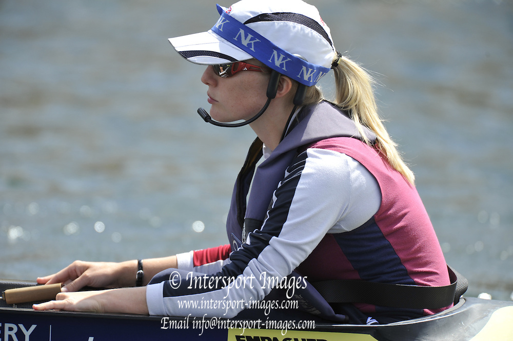 Henley, GREAT BRITAIN,  Cox, Caroline O'CONNER.  2010 Henley Royal Regatta. 11:59:50   Sunday  04/07/2010.  [Mandatory Credit: Peter Spurrier / Intersport-images] Rowing Courses, Henley Reach, Henley, ENGLAND . HRR.