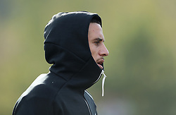 November 20, 2018 - Rome, Italy - Rugby All Blacks training - Vista Norther Tour.TJ Perenara at University Sport Center in Rome, Italy on November 20, 2018. (Credit Image: © Matteo Ciambelli/NurPhoto via ZUMA Press)