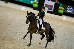 Barbancon Mestre Morgan, ESP, Sir Donnerhall II Old<br /> The Dutch Masters<br /> Indoor Brabant - 's Hertogen bosch 2018<br /> © Hippo Foto - Dirk Caremans<br /> 09/03/2018