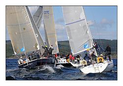 The Brewin Dolphin Scottish Series, Tarbert Loch Fyne..GBR9641R Local Hero BH41 Geoffery Howison .3355C Pure Magic CCC MG335 Des & Liz Balmforth ..