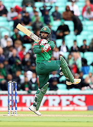 Bangladesh's Tamim Iqbal in action during the ICC Champions Trophy, Group A match at The Oval, London.