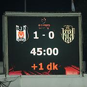 Besiktas's and MKE Ankaragucu's during their Turkish superleague soccer match Besiktas between MKE Ankaragucu at BJK Inonu Stadium in Istanbul Turkey on Monday, 19 September 2011. Photo by TURKPIX
