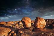 Devil's Marbles rock formation. Northern Territory, Australia.  Shot during the Pentax Solar Car Race. Australia landscapes.