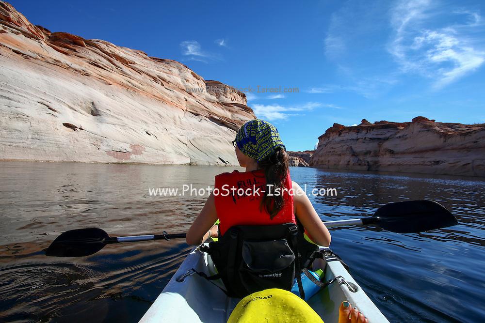 Lake Powell and the Glen Canyon National Recreation area Arizona, USA