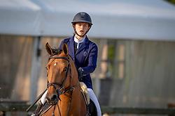 Hoeben Valentina, BEL, Cherie<br /> Belgisch Kampioenschap Children<br /> Azelhof - Koningshooikt 2018<br /> © Hippo Foto - Dirk Caremans<br /> 13/05/2018