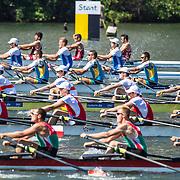 World Juniors on water