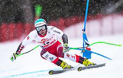 14.02.2020, Zwölferkogel, Saalbach Hinterglemm, AUT, FIS Weltcup Ski Alpin, Super G, Herren, im Bild Vincent Kriechmayr (AUT) // Vincent Kriechmayr of Austria in action during his run for the men's SuperG of FIS Ski Alpine World Cup at the Zwölferkogel in Saalbach Hinterglemm, Austria on 2020/02/14. EXPA Pictures © 2020, PhotoCredit: EXPA/ Johann Groder
