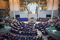 DEU, Deutschland, Germany, Berlin, 24.10.2017: Konstituierende Sitzung des 19. Deutschen Bundestags mit Wahl des Bundestagspräsidenten.