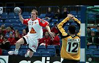 Håndball, Stavanger, Elfag Cup, 16/01-05,<br /> Algerie - Sveits,<br /> Manuel Lininger,<br /> Foto: Sigbjørn Andreas Hofsmo, Digitalsport