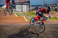 #110 (SMULDERS Laura) NED TVE Meybo at Round 8 of the 2019 UCI BMX Supercross World Cup in Rock Hill, USA