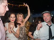 YASMIN MILLS; ANASTASIA WEBSTER; PETE TONG, Pete & Carolina Tong and Yasmin Mills Christmas Party. Baroque, The Playboy Club, Old Park Lane, London. 15 December 2012.