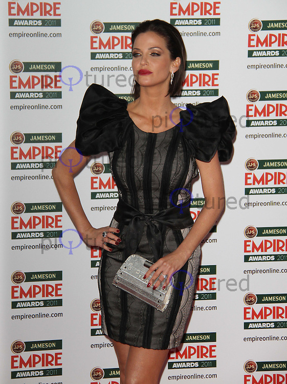 Sarah Harding Jameson Empire Awards, Grosvenor House Hotel, Park Lane, London, UK, 27 March 2011:  Contact: Rich@Piqtured.com +44(0)7941 079620 (Picture by Richard Goldschmidt)