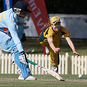 Ellyse Perry fielding  during the ICC Women's World Cup Cricket play off for third place between Australia and India at Bankstown Oval, Sydney, Australia on March 21, 2009. India beat Australia by three wickets. Photo Tim Clayton