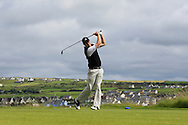 James Fox (Portmarnock) on the 6th tee during Matchplay Round 2 of the South of Ireland Amateur Open Championship at LaHinch Golf Club on Friday 22nd July 2016.<br /> Picture:  Golffile | Thos Caffrey<br /> <br /> All photos usage must carry mandatory copyright credit   (© Golffile | Thos Caffrey)