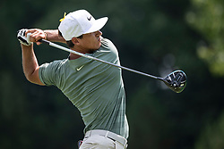 August 5, 2018 - Akron, OH, U.S. - AKRON, OH - AUGUST 05:   Thorbjorn Olesen (DEN) plays his shot from the sixth tee during the final round of the World Golf Championships - Bridgestone Invitational on August 5, 2018 at the Firestone Country Club South Course in Akron, Ohio. (Photo by Shelley Lipton/Icon Sportswire) (Credit Image: © Shelley Lipton/Icon SMI via ZUMA Press)