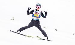 28.02.2019, Seefeld, AUT, FIS Weltmeisterschaften Ski Nordisch, Seefeld 2019, Nordische Kombination, Team Sprung, im Bild Hideaki Nagai (JPN) // Hideaki Nagai of Japan during the Team Jumping competition for Nordic Combined of FIS Nordic Ski World Championships 2019. Seefeld, Austria on 2019/02/28. EXPA Pictures © 2019, PhotoCredit: EXPA/ JFK