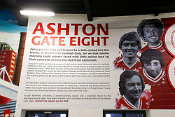 General View of new Ashton Gate 8 Artwork by newly announced club artist Jordan Hall in the Concourse at the stadium - Rogan/JMP - 05/09/2020 - Ashton Gate Stadium - Bristol, England - Bristol City v Exeter City - Carabao Cup First Round.