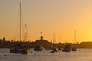 Newport Beach California At Sunset