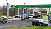 Nederland, Arnhem, 2-1-2013Een pompstation van BP. Stadskaart van Arnhem.Foto: Flip Franssen/Hollandse Hoogte